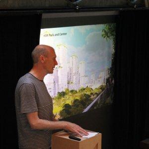 Michael Trinkner - Abendvortrag Stadtentwicklung Jurong Lake District Singapur
