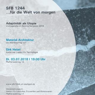 Flyer Vortrag Dirk Hebel