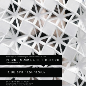 Flyer Artistic Design Research