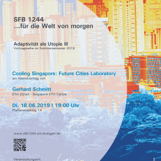 Gerhard Schmitt - Cooling Singapore: Future Cities Laboratory