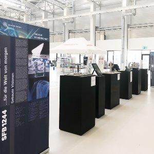 Ausstellung SFB 1244 - Tag der Wissenschaft