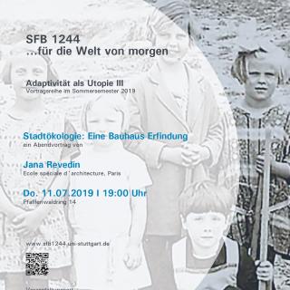Jana Revedin -  Stadtökologie: Eine Bauhaus Erfindung