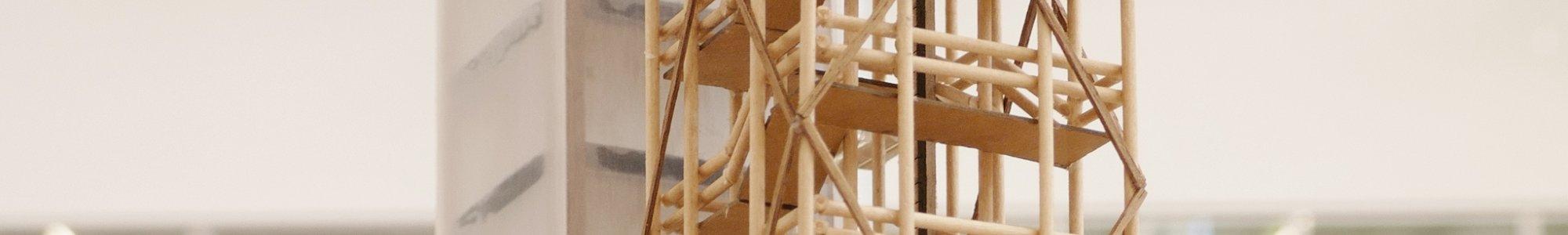 Architekturmodell Demonstrator im Maßstab 1:200