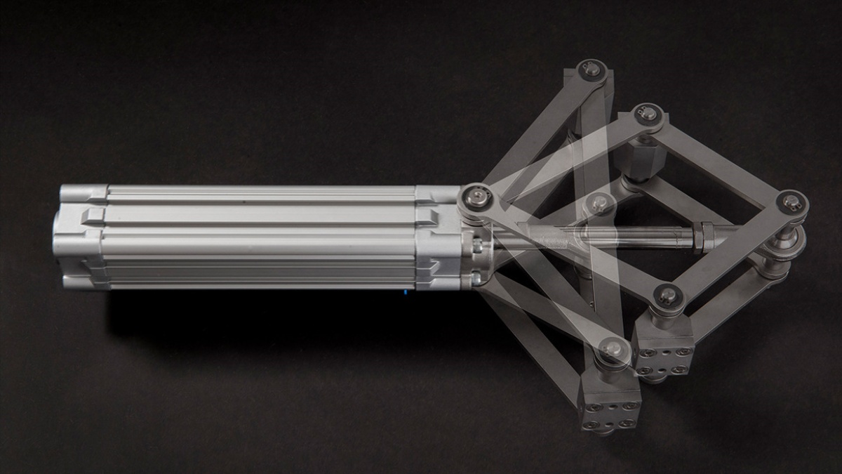Scissor-like actuator  (c) ILEK